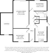 Floorplan 1 of 1 for 1 Sandell Close, Stockingstone Road