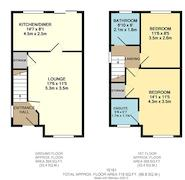 Floorplan 1 of 1 for 98 Wedgewood Drive