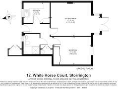 Floorplan 1 of 1 for 12 White Horse Court
