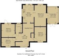 Floorplan 1 of 1 for 8 Grange Close