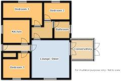 Floorplan 1 of 1 for 28 Lords Meadow View