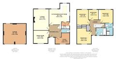 Floorplan 1 of 1 for 3 Vicarage Close, The Chase