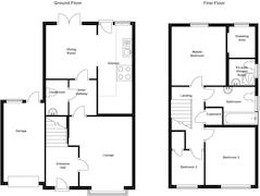 Floorplan 1 of 1 for 1 Little Orchard Close