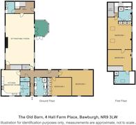 Floorplan 1 of 1 for 4 Hall Farm Place
