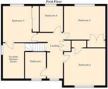 Floorplan 2 of 2 for 1 Vicarage Close, The Chase