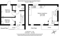 Floorplan 1 of 1 for 4 Pittville Mews