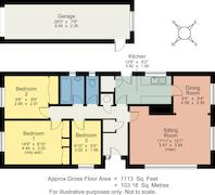 Floorplan 1 of 1 for 11 St. Annes Close