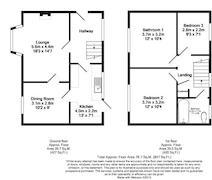 Floorplan 1 of 1 for 6 Lea Green, Mill Green