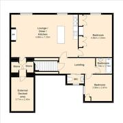 Floorplan 1 of 2 for 47 Bondgate Without