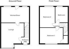 Floorplan 1 of 1 for 3 Poplar Terrace