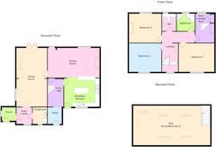 Floorplan 1 of 1 for Eldmire Cottage, Ox Close Lane, Eldmire