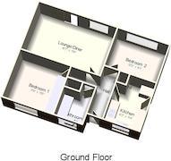 Floorplan 1 of 1 for 3 Sandell Close, Stockingstone Road