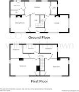 Floorplan 1 of 1 for Woodleigh House, Norwich Road