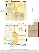 Floorplan 1 of 1 for 14 Cassiobury Park Avenue