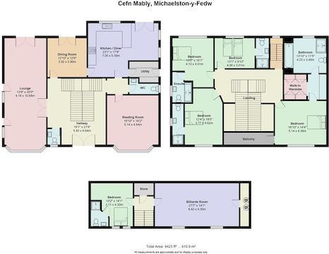 Mably House, Cefn Mably.Jpg
