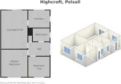 Floorplan 1 of 1 for 4 Highcroft