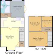 Floorplan 1 of 1 for Hillend Cottage, The Hill