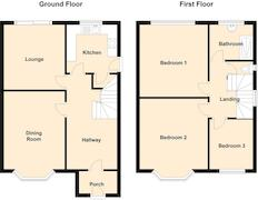 Floorplan 1 of 1 for 33 Glastonbury Terrace