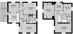 Floorplan 1 of 1 for Midstars, Kitchen Lane