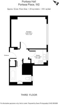 318 Sq Ft (Approx.)