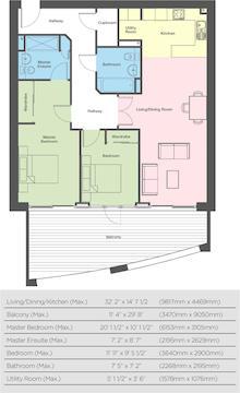 The Carlyon Floorplan