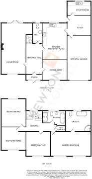 Stamford Road, Oakham - Floorplan