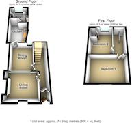 Floorplan 1 of 1 for 25 Clifton Hill