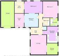 Floorplan 1 of 1 for 1 Nutwood Close