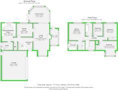 Floorplan 1 of 1 for 27 Almond Close