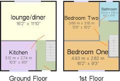Floorplan 1 of 1 for 166 Northumberland Road