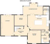 Floorplan 1 of 4 for 4 Oak Tree Close