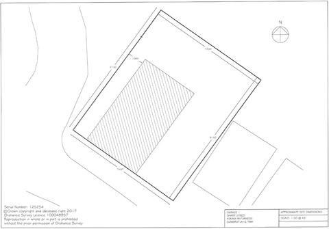 Garage 1 Site Plan
