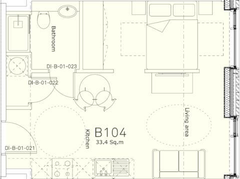 Studio Apartment Blob