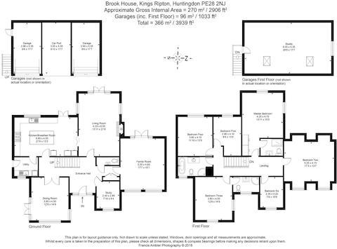Brook House Floor Plan Inc Measurements.Jpg