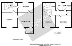 Floorplan 1 of 1 for 2 Grove Mews, Malvern Grove
