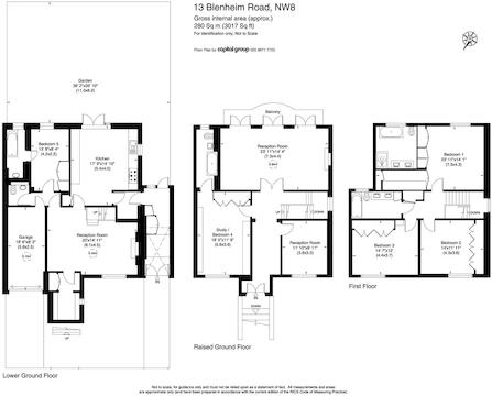 13 Blenheim Road Nw8 357000 Plan-Model.Jpg