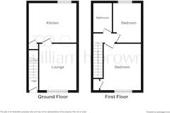 Floorplan 1 of 2 for 2 Kirkley Terrace, Granville Road