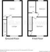 Floorplan 2 of 2 for 2 Kirkley Terrace, Granville Road