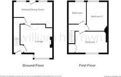 Floorplan 1 of 2 for 4 Poplar Terrace