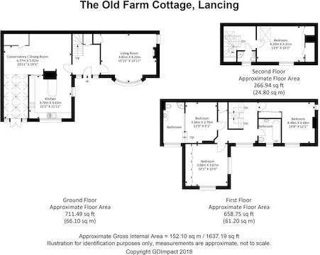 The Old Farm Cottage, Lancing.Jpg