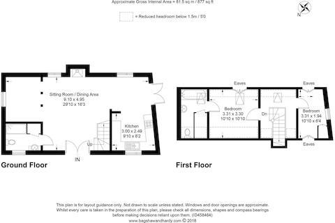 House. Estate Agency Thursley Stone Barn Floor Pla