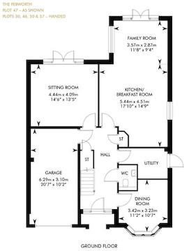 The Pebworth , Ground Floor