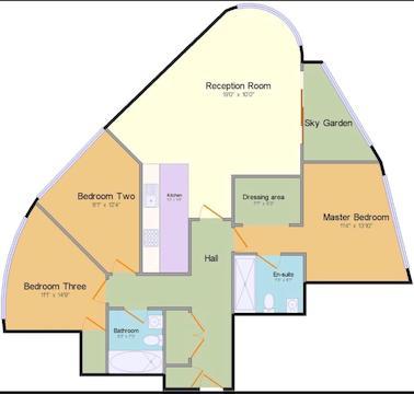 Beetham Tower Floorplan.Jpg