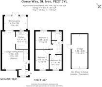 Floorplan 1 of 1 for 7 Gorse Way