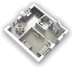 Ground Floor Closed 3D