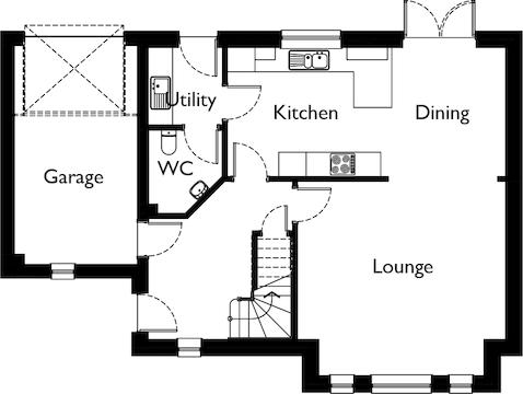 Ground Floor Open Plan
