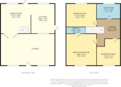 Floorplan 1 of 1 for 4, Royal George Cottages, Royal George