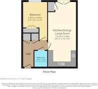 Floorplan 1 of 1 for 89 Heol Cae Tynewydd