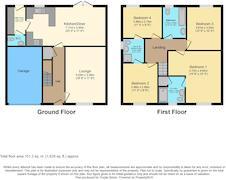 Floorplan 1 of 1 for 3 Kitchen Gardens