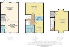 Floorplan 1 of 1 for 3 Mountside Close